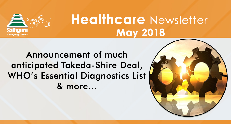 Healthcare Newsletter – May 2018