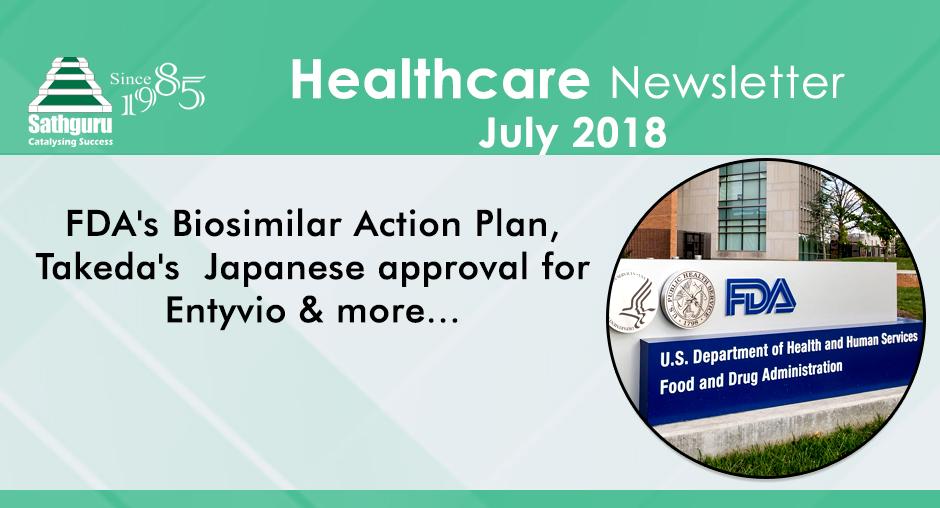 Healthcare Newsletter – July 2018