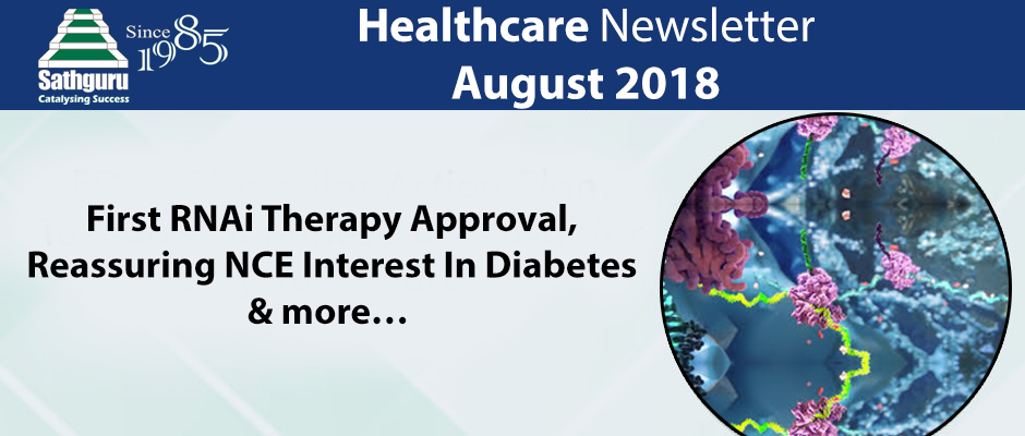 Healthcare Newsletter – August 2018