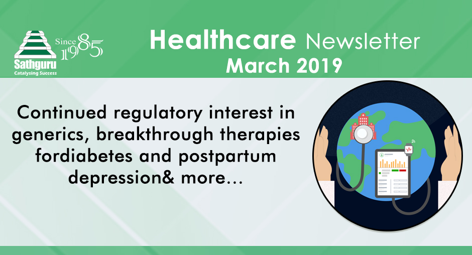 Healthcare Newsletter – March 2019