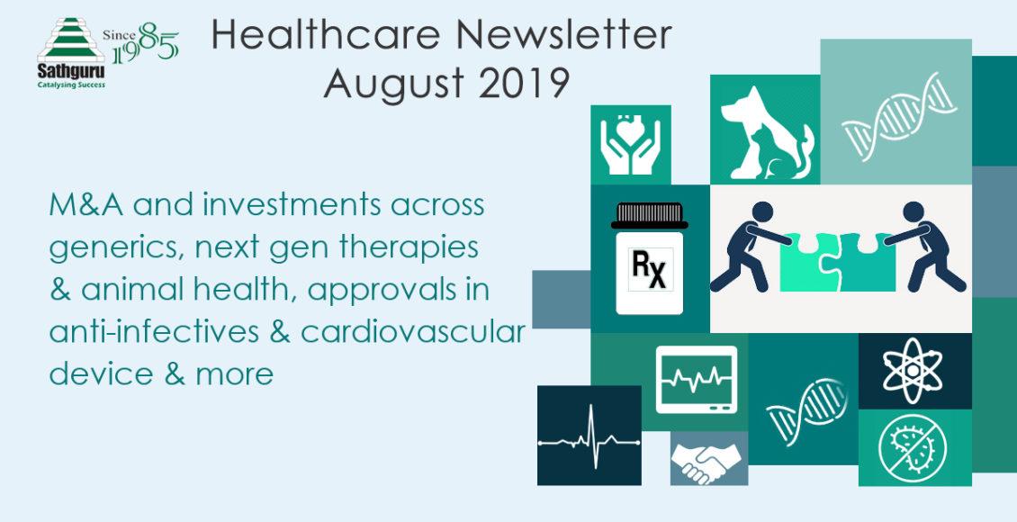 Healthcare Newsletter – August 2019