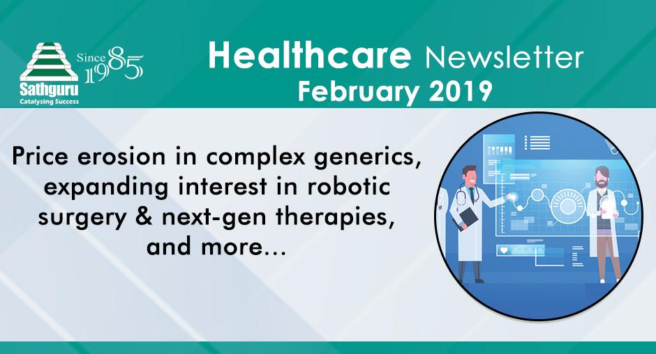 Healthcare Newsletter – February 2019