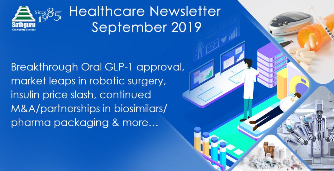 Healthcare Newsletter – September 2019