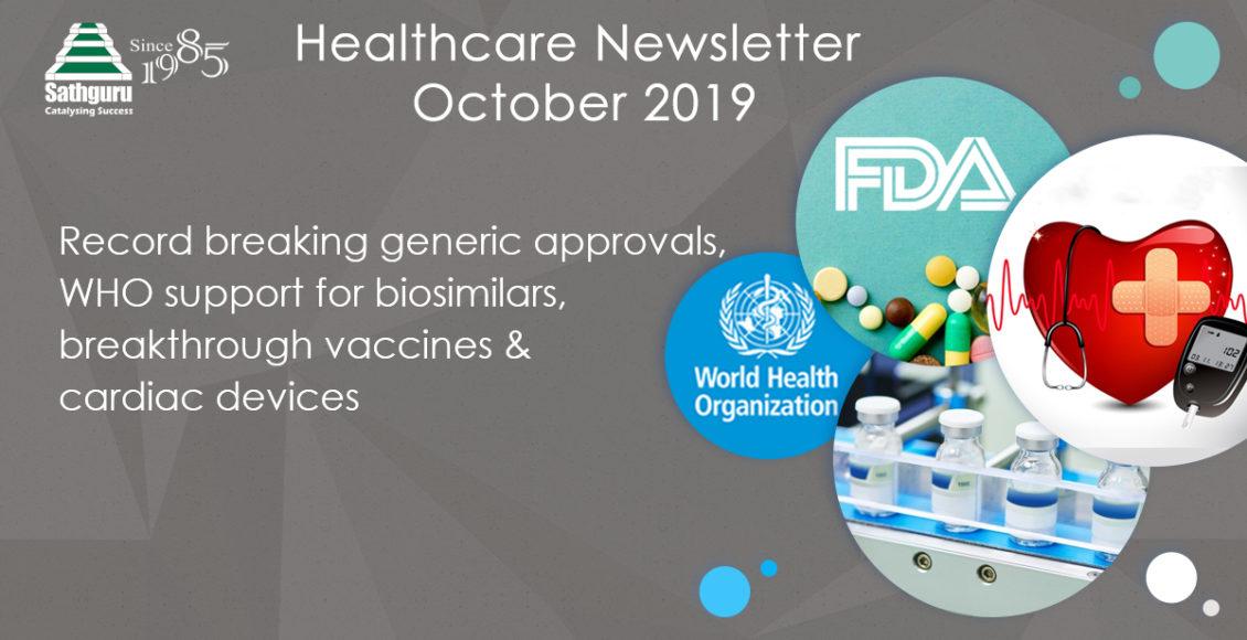 Healthcare Newsletter – October 2019