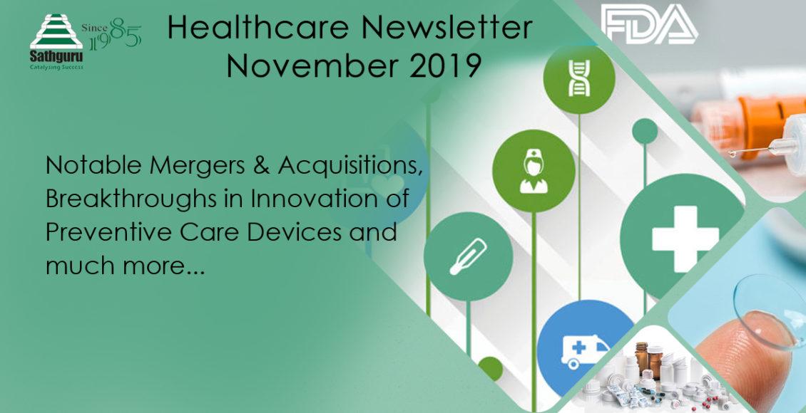 Healthcare Newsletter – November 2019