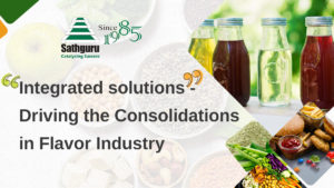 Integrated solutions – Driving the consolidations in flavor industry