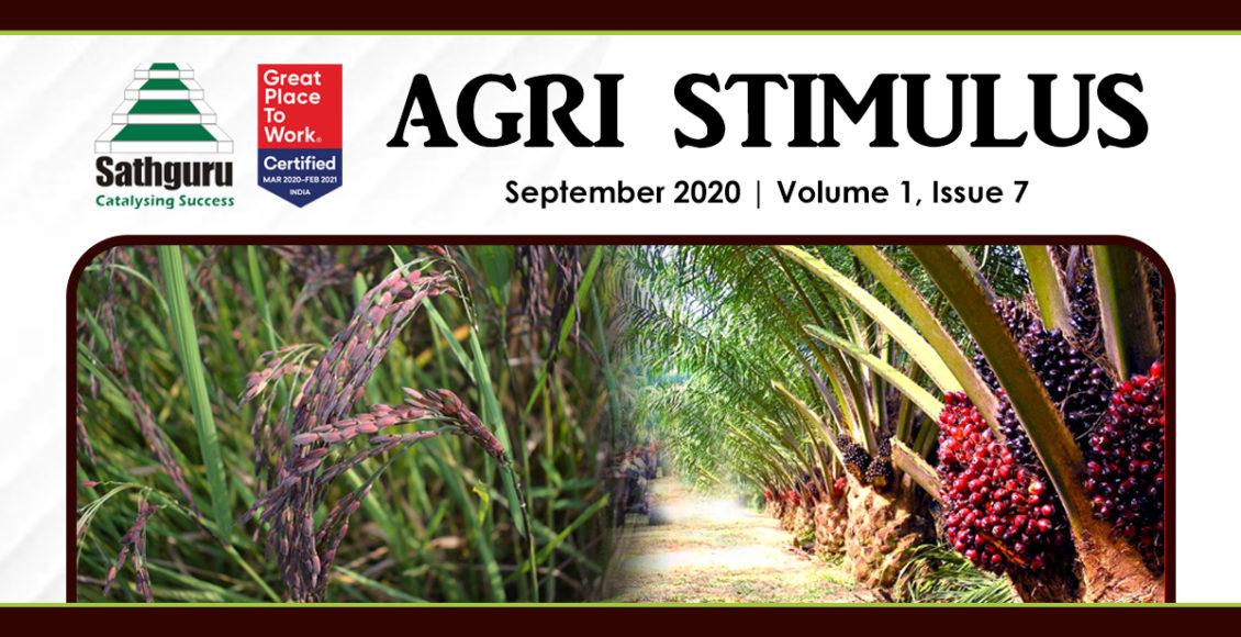 Agri Stimulus Newsletter – September 2020