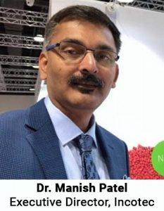 Dr. Manish Patel Executive Director Incotec