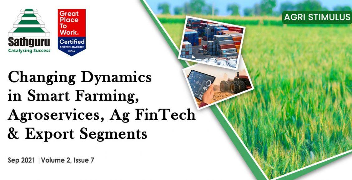 Agri Stimulus Newsletter September 2021